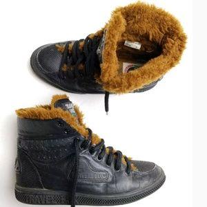 Boots Tennis Shoes Faux Fur   Poshmark